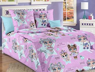 Комплект постельного белья серии «Бамбино» в ассортименте
