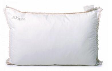 Подушка с вышивкой, на молнии Сказка